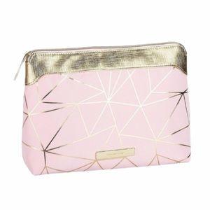 NWT Tartan + Twine Pink and Gold Large Purse Kit
